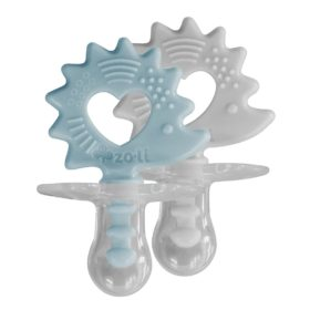 Buy ZoLi BINKI.T Pacifier + Teether Combination (Pack of 2) online with Free Shipping at Baby Amore India, Babyamore.in