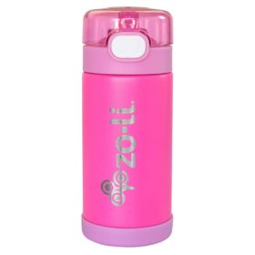 Buy ZoLi POW Squeak Vacuum Insulated Straw Drink Bottle - White online with Free Shipping at Baby Amore India, Babyamore.in