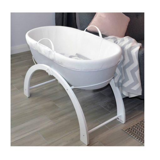 Buy Shnuggle Dreami Baby Sleeper Grey Base + 2 in 1 Curve Stand online with Free Shipping at Baby Amore India, Babyamore.in