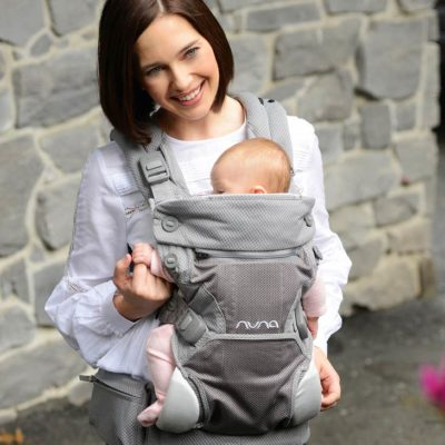 Buy Nuna Cuddle Carrier Grey & Black online with Free Shipping at Baby Amore India, Babyamore.in