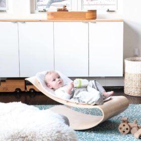 Buy Bloom Baby Rocker White/Natural online with Free Shipping at Baby Amore India, Babyamore.in