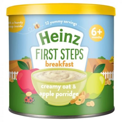 Buy Heinz First Steps Breakfast Creamy Oat & Apple Porridge, 6m+, 240g online with Free Shipping at Baby Amore India, Babyamore.in