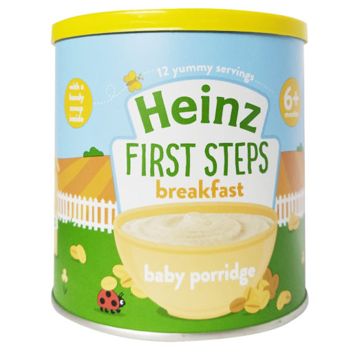 Buy Heinz First Steps Breakfast Baby Porridge, 6m+, 240g online with Free Shipping at Baby Amore India, Babyamore.in