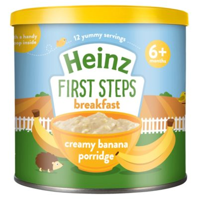 Buy Heinz First Steps Breakfast Creamy Banana Porridge, 6m+, 240g online with Free Shipping at Baby Amore India, Babyamore.in