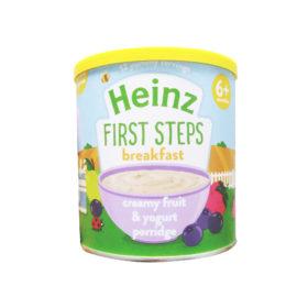 Buy Heinz First Steps Breakfast Creamy & Fruit Yogurt Porridge, 6m+, 240g online with Free Shipping at Baby Amore India, Babyamore.in