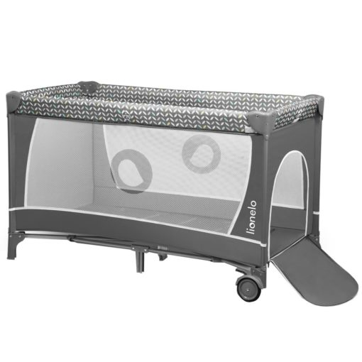 Buy Lionelo Sven Plus 2 in 1 Travel Bed Playpen, Grey online with Free Shipping at Baby Amore India, Babyamore.in