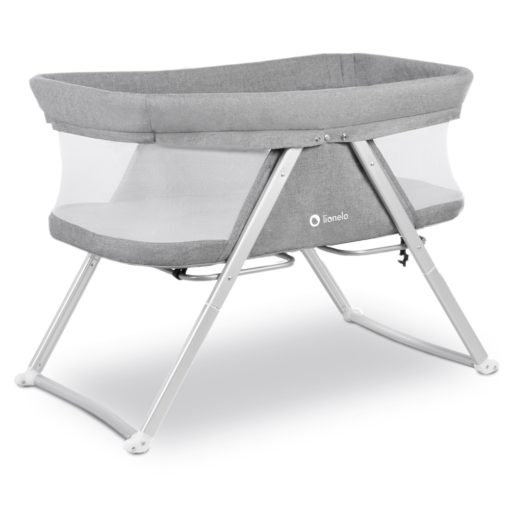 Buy Lionelo Vera Baby Bed, Grey online with Free Shipping at Baby Amore India, Babyamore.in