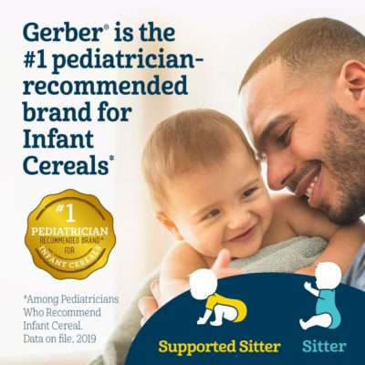 Buy Gerber Organic Oatmeal Millet Quinoa Cereal (227 g) online with Free Shipping at Baby Amore India, Babyamore.in