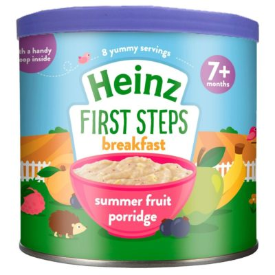 Buy Heinz First Steps Breakfast Summer Fruit Porridge, 7m+, 240g online with Free Shipping at Baby Amore India, Babyamore.in