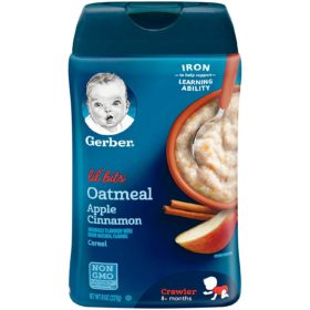 Buy Gerber Oatmeal Apple Cinnamon Cereal (227 g) online with Free Shipping at Baby Amore India, Babyamore.in